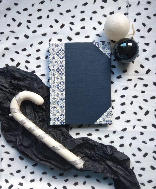 Caderno artesanal artesanía papel reciclado regalo