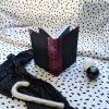 Caderno artesanal regalo papel reciclado feito a man